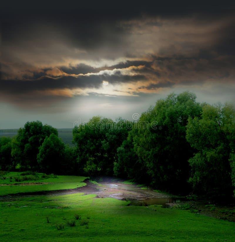 Moody Landscape stock photography