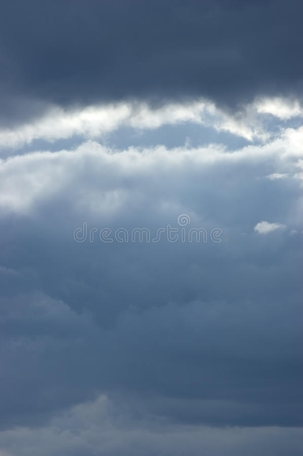 Download Moody Sea Cloudscape, Slight Sunbeams Stock Photo - Image: 11314246