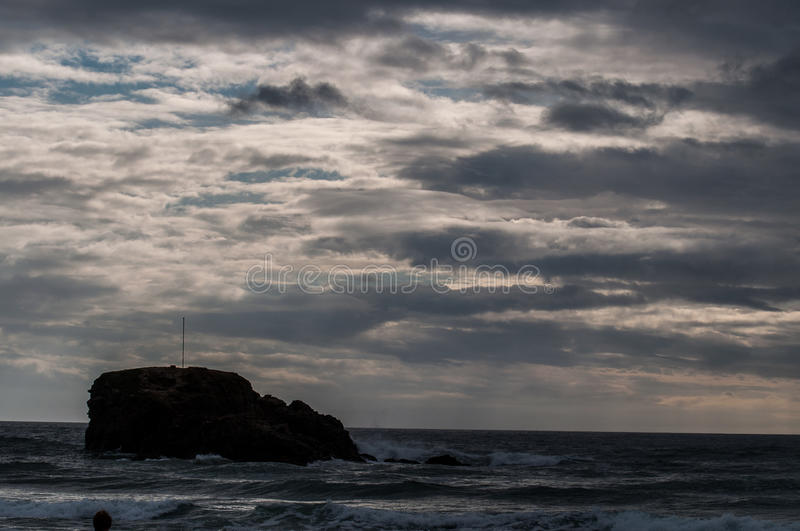 Download Moody skies in Cornwall stock image. Image of outdoors - 83714663