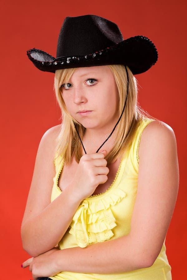 Moody Teenager Stock Image