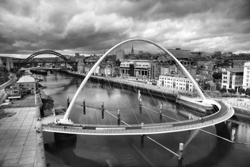 moody Tyne fotografia stock