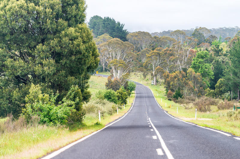 Mooi Australisch platteland, Nieuw Zuid-Wales stock fotografie