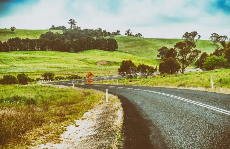 Mooi Australisch platteland, Nieuw Zuid-Wales royalty-vrije stock foto