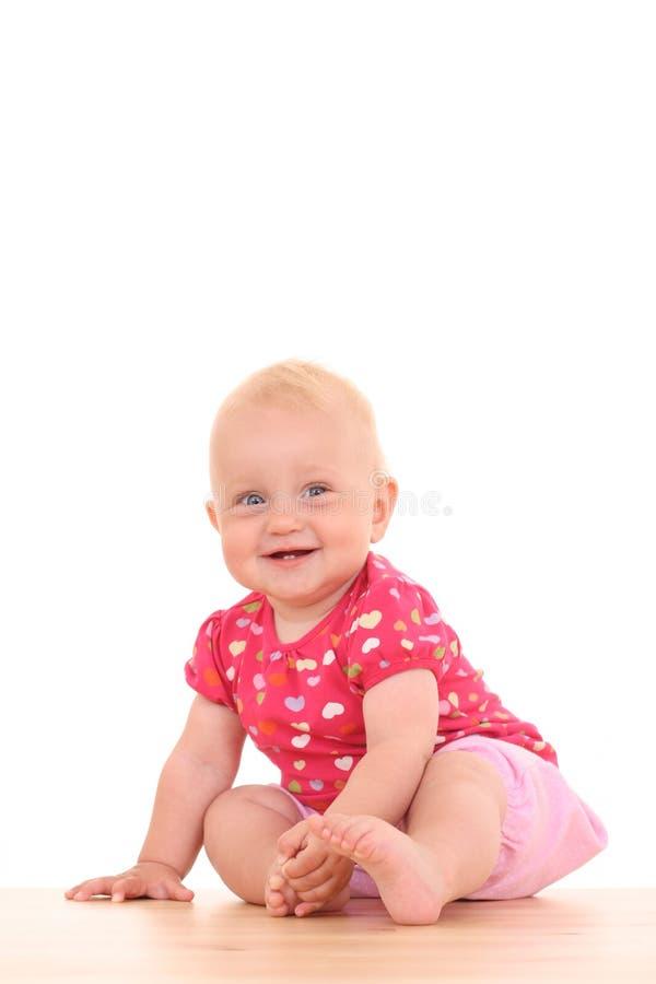 Mooi babymeisje stock fotografie