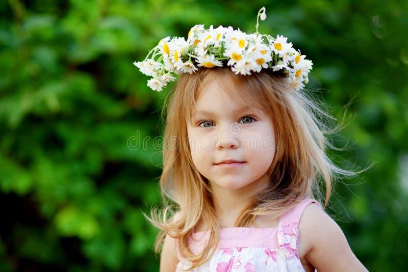 Mooi babymeisje royalty-vrije stock foto's