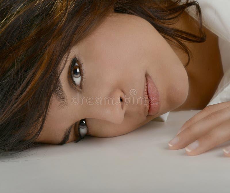 Mooie Latino Vrouw royalty-vrije stock afbeeldingen