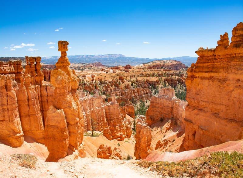 Mooi berglandschap in Utah royalty-vrije stock foto