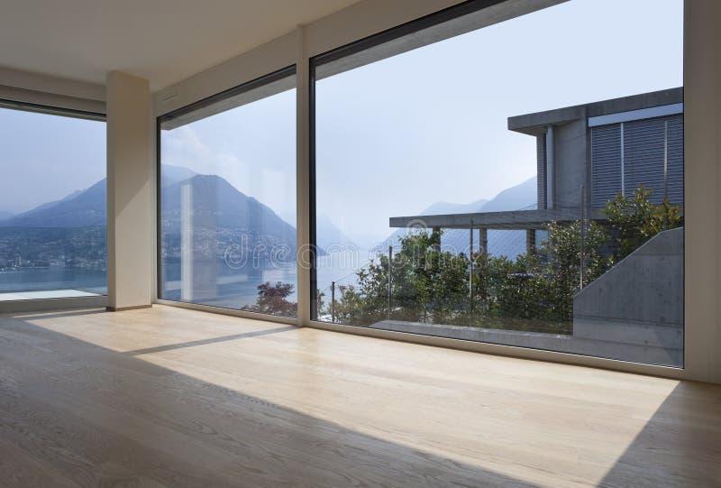 Mooi binnenland van een modern huis stock foto