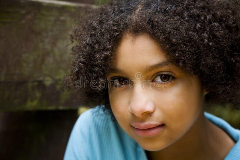 Mooi Biracial Meisje #3 stock fotografie