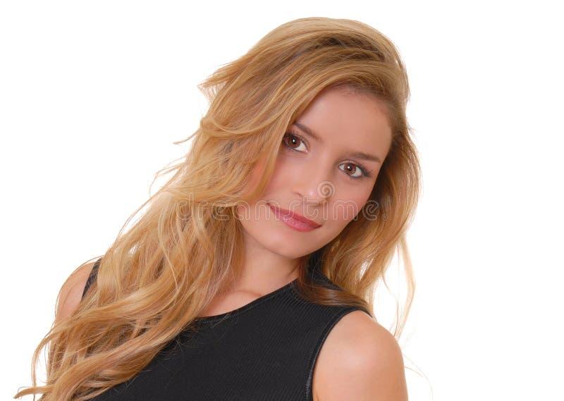 Mooi Blond Meisje stock foto
