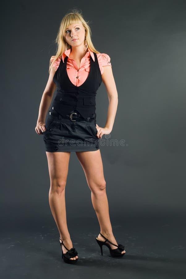 Mooi blonde meisje stock fotografie