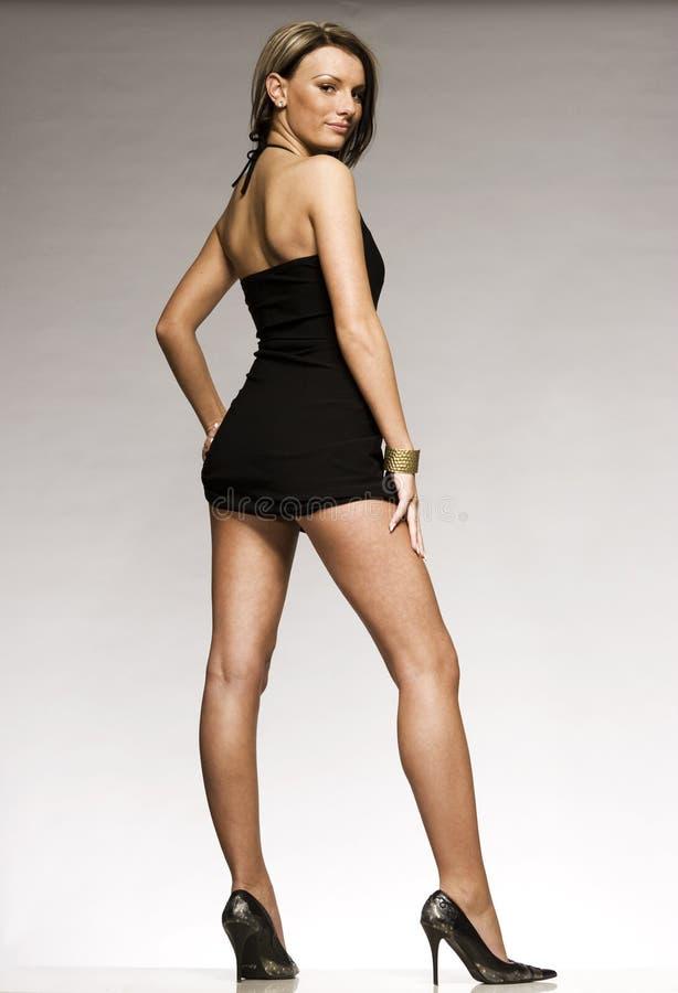 Mooi blonde model royalty-vrije stock foto