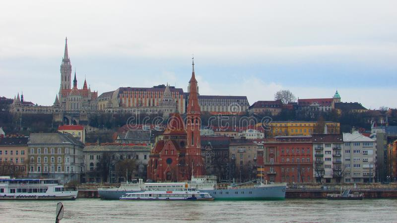 Mooi Boedapest, Hongarije royalty-vrije stock foto
