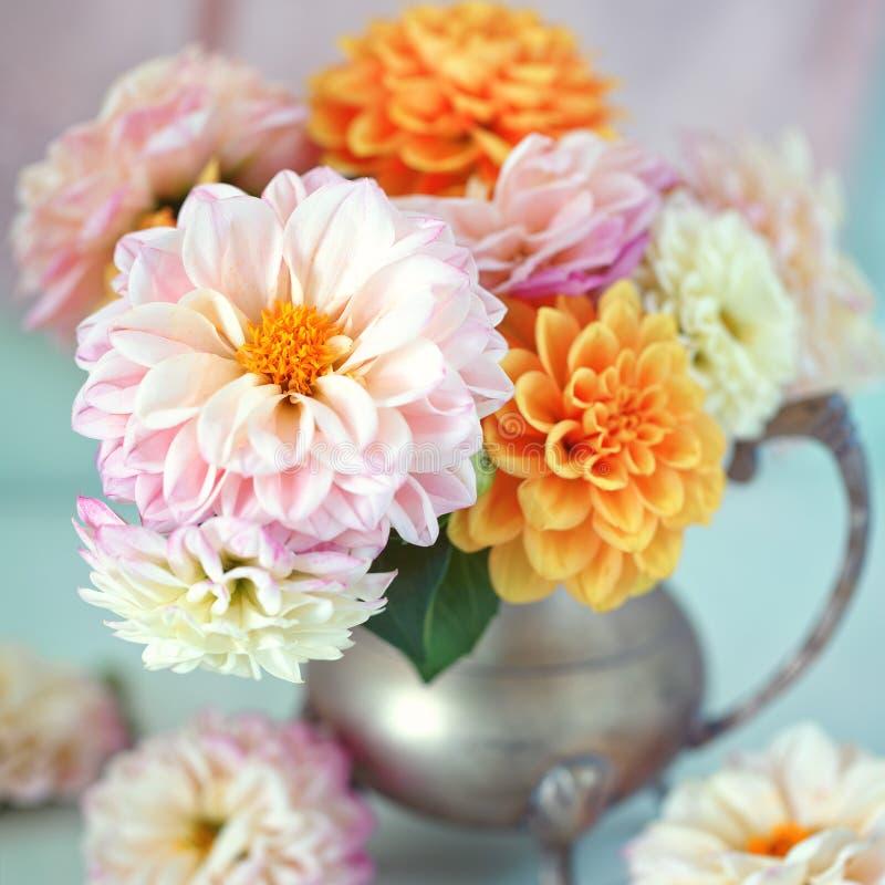 Mooi boeket van bloemen royalty-vrije stock foto's