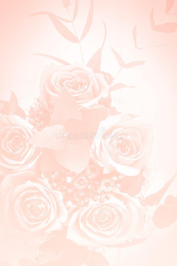 Mooi boeket van rozen stock foto
