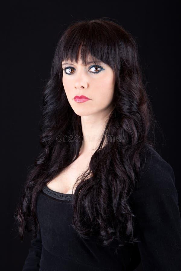 Mooi brunette stock fotografie