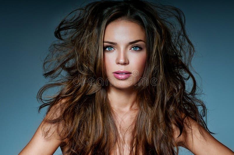 Mooi brunette royalty-vrije stock foto