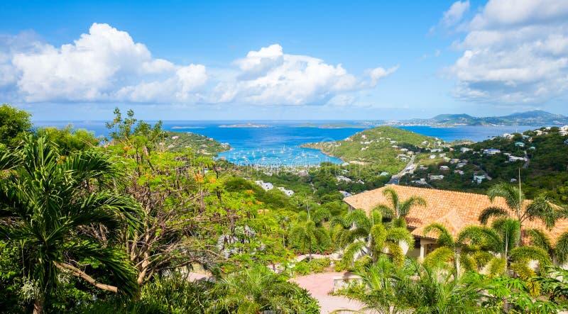 Mooi Caraïbisch Eiland stock afbeelding