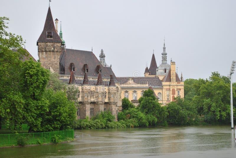 mooi de geheimzinnigheid van de kasteelgeschiedenis verhaal royalty-vrije stock foto