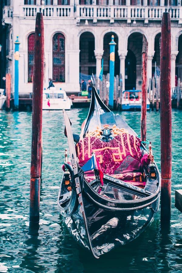 Mooi de Gondel Reizend Concept van Italië Venetië stock foto
