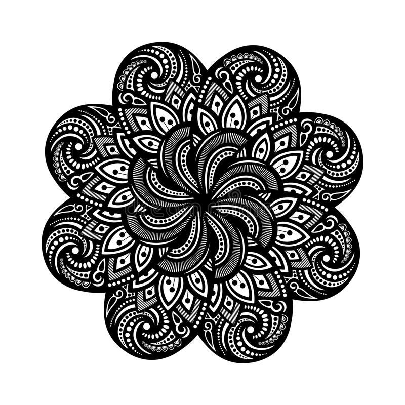 Mooi Deco Mandala (Vector) vector illustratie