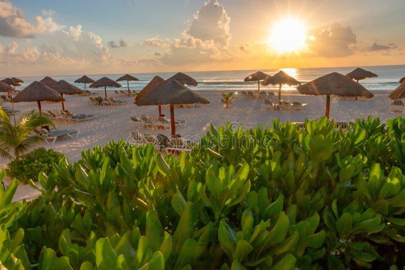 Mooi geheugen van een Cancun-Vakantie stock foto's