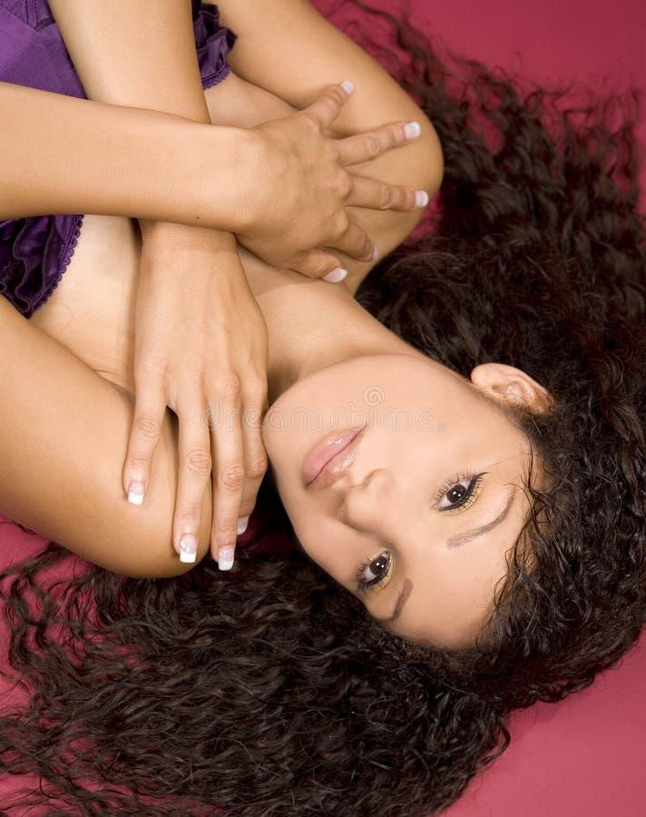 Download Mooi gezicht stock foto. Afbeelding bestaande uit makeup - 10782356