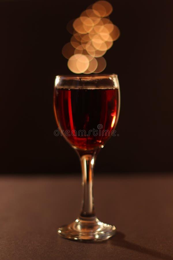 Mooi Glas Wijn royalty-vrije stock foto