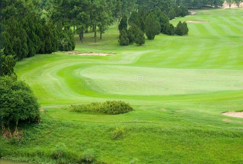 Mooi golfpark royalty-vrije stock afbeelding