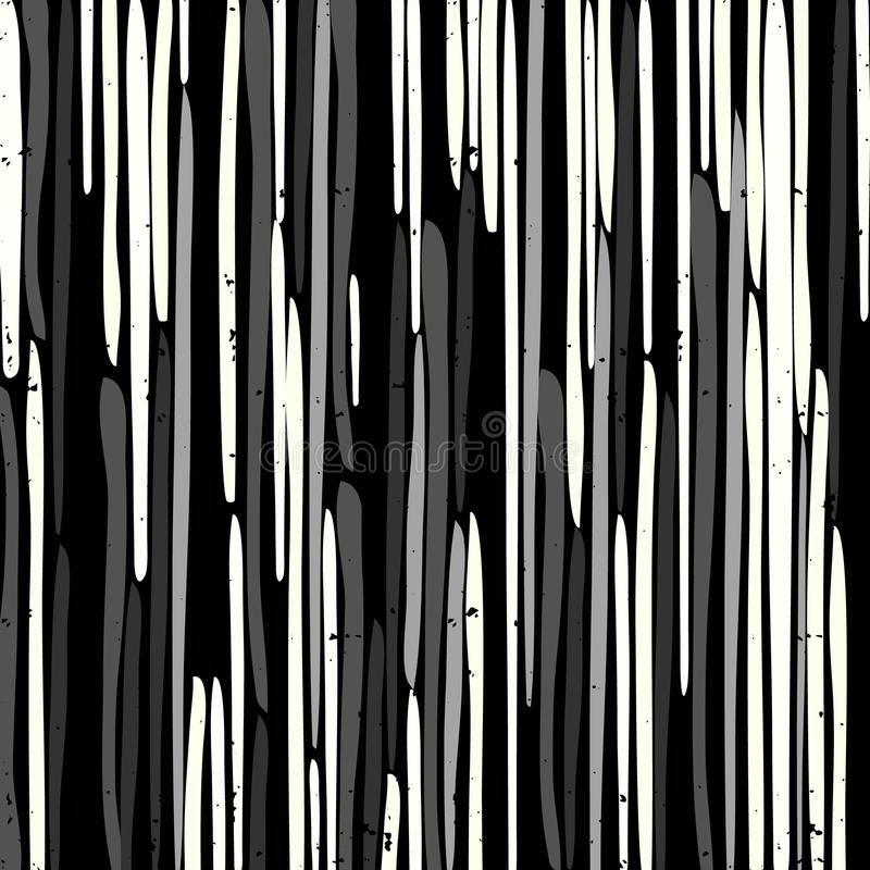 Mooi graffitipatroon op een zwarte vector als achtergrond vector illustratie
