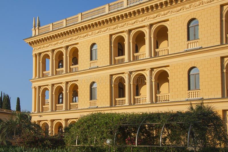 Mooi grondgebied van het sanatorium royalty-vrije stock fotografie