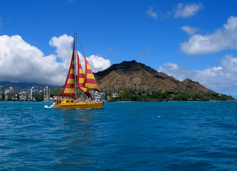 Mooi Hawaï stock foto