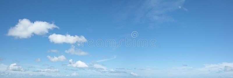 Mooi hemelpanorama stock fotografie