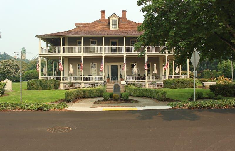 Mooi Historisch Huis stock afbeeldingen