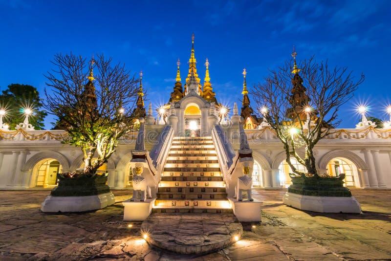 Mooi Hotel van Chiang Mai Thailand royalty-vrije stock foto's