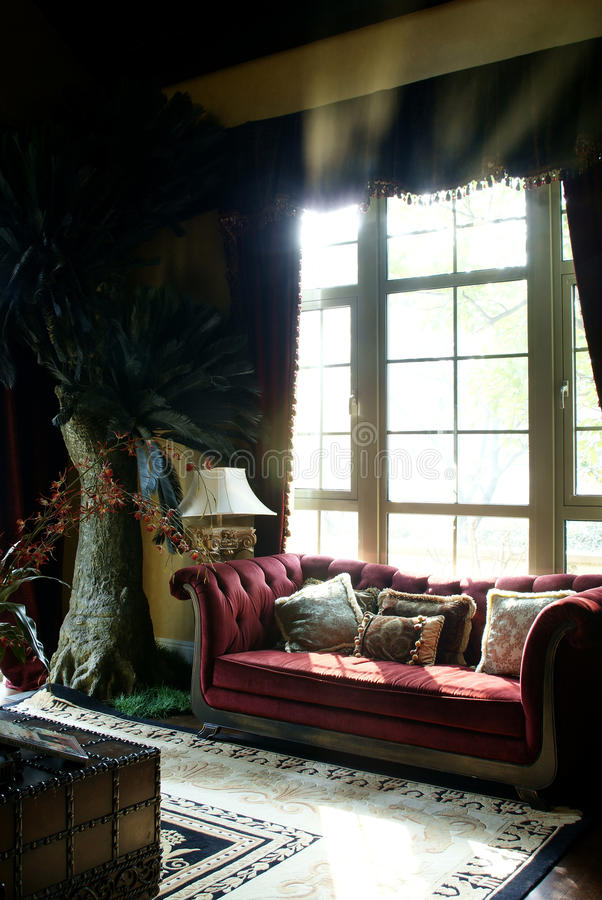 Mooi huis royalty-vrije stock afbeeldingen