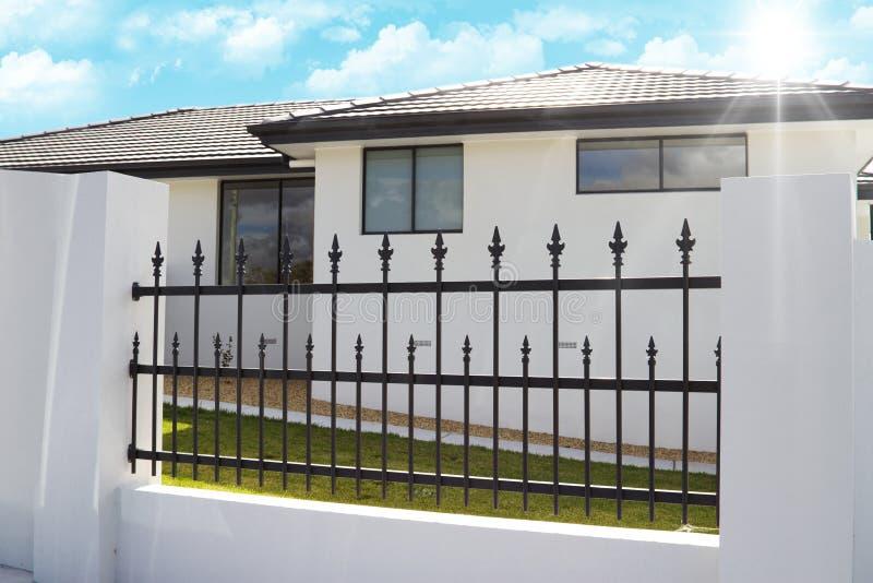 Mooi huis stock fotografie