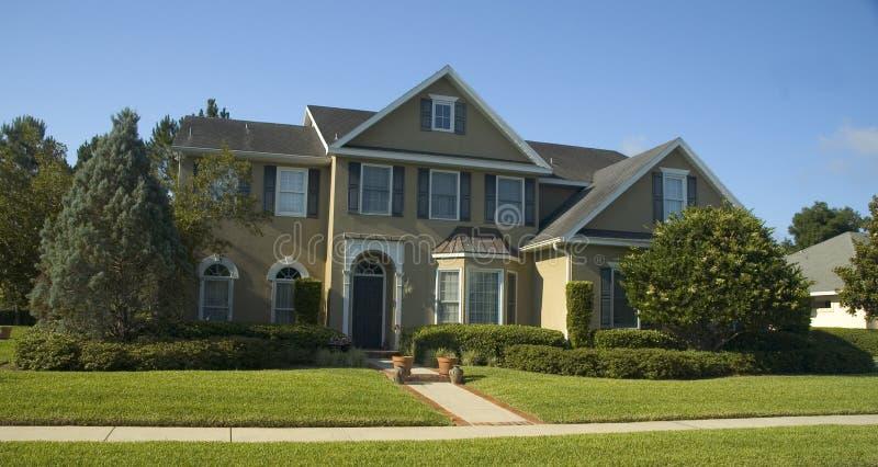 Mooi huis stock afbeelding