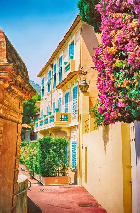 Mooi huis in Monte Carlo royalty-vrije stock foto's