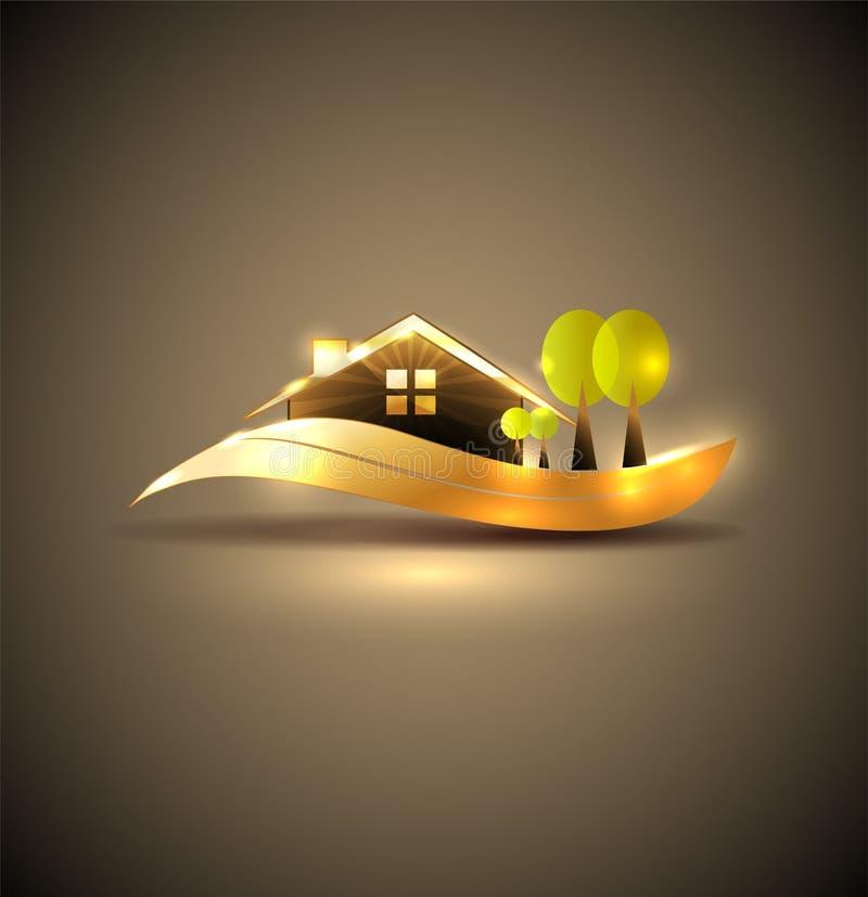 Mooi huissymbool royalty-vrije illustratie