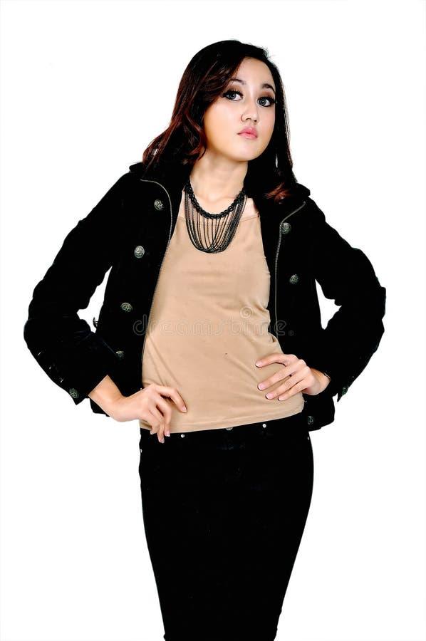 Mooi Indonesisch Model royalty-vrije stock foto's