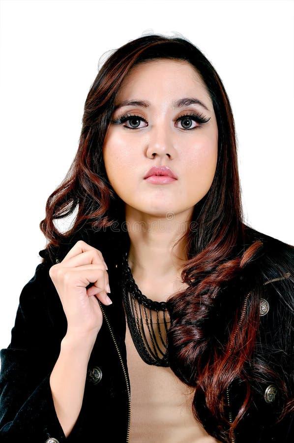 Mooi Indonesisch Model stock foto