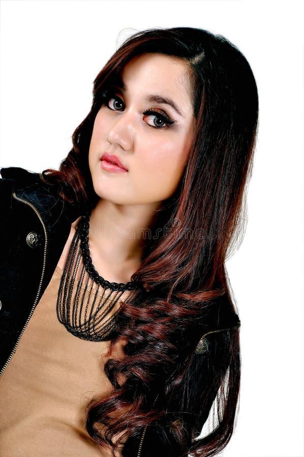 Mooi Indonesisch Model royalty-vrije stock foto