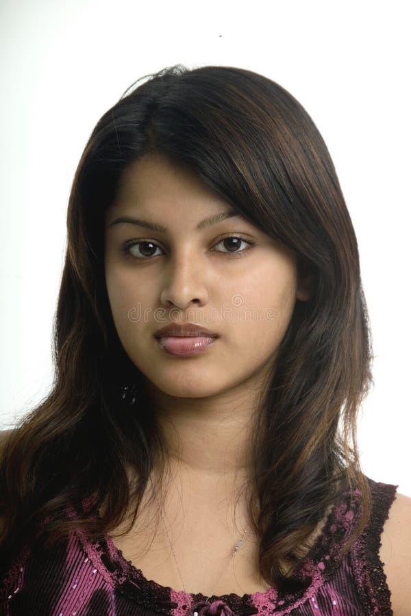 Mooi Inwoner van Bangladesh meisje stock afbeeldingen