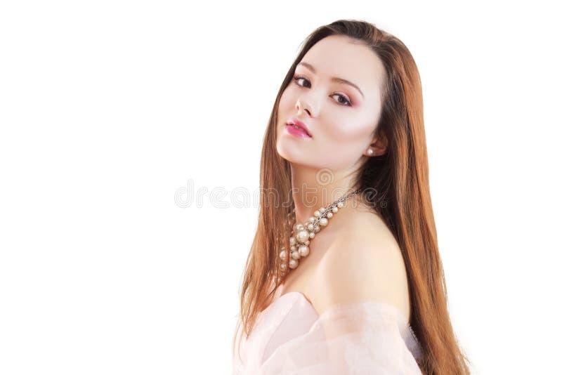 Mooi jong brunette royalty-vrije stock foto's