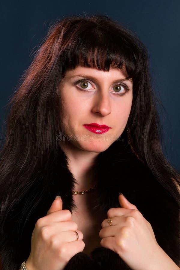 Mooi jong brunette royalty-vrije stock afbeelding