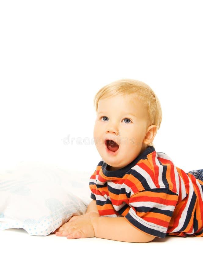 Mooi jong kind royalty-vrije stock afbeelding