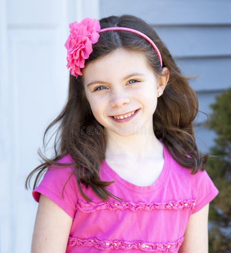 Mooi jong meisje royalty-vrije stock foto's