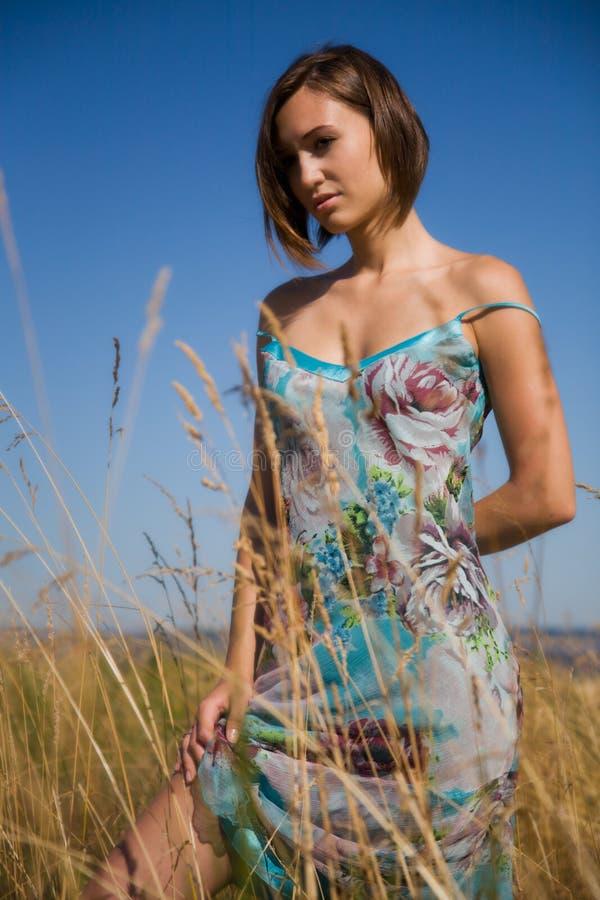 Mooi Kaukasisch meisje royalty-vrije stock fotografie