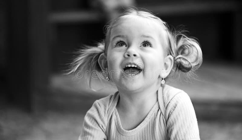Mooi klein meisje stock foto